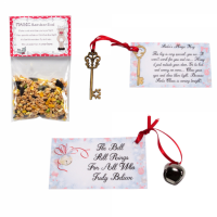 I Believe Bell, Magic Reindeer Food & Santa Key Bundle - Christmas Eve Box Filler